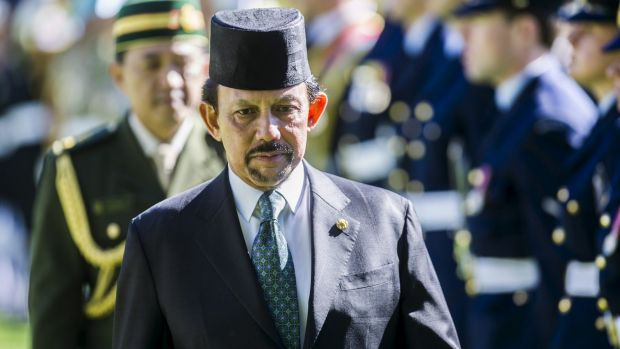 Sultan Hassanal Bolkiah, one of the world's richest men, ordered the introduction of sharia in Brunei last year.