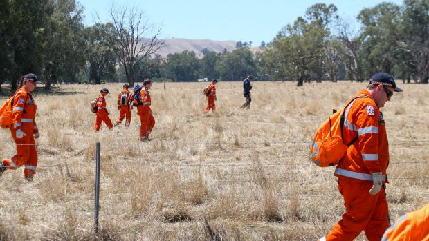 SES begin another search for missing woman Karen Chetcuti late on Saturday.