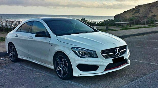 A photo of a Mercedes on Michael Tallal's Facebook page.