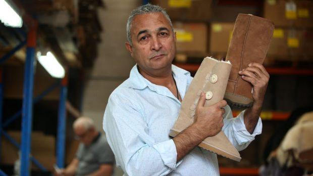 """""""I want to take this right to the end:"""" Australian Leather owner Eddie Oygur, who is fighting for the right to use the ..."""