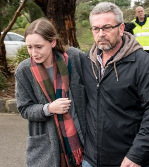 Neighbours say Borce Ristevski has asked if they had any CCTV cameras that may have captured his wife's movements on the ...