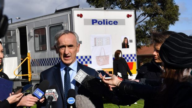 Detective Inspector Stephen Dennis from the Missing Persons Squad speaking about the disappearance of Karen Ristevski.