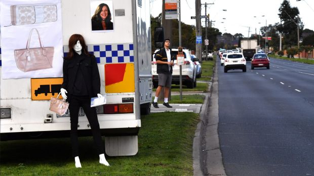 The mannequin police hope will spark a memory in the search for missing mother Karen Ristevski.