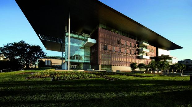 The Gallery of Modern Art in Brisbane, designed by Kerry Clare and partner Lindsay.