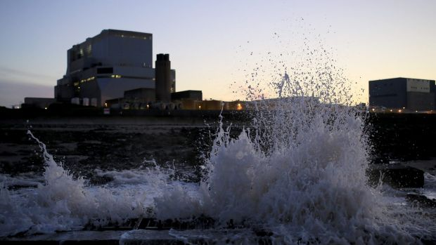 French energy giant EDF, which already operates Hinkley Point B, pictured, said energy bills are expected to rise by 3.9 ...