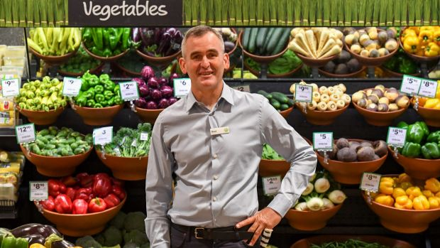 Woolworths chief executive Brad Banducci says its supermarkets business is still in the early stages of a (five-year) ...