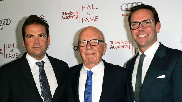 It's not be solely up to the Fox CEO, right, to determine the network star's fate. Rupert Murdoch, centre, has been ...