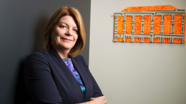 Canberra Business Chamber chief executive Robyn Hendry.