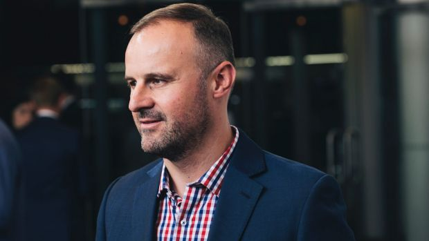 ACT Chief Minister Andrew Barr: Canberra has one of the fastest growing economies in Canberra.