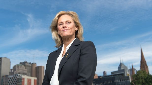Danni Roche is challenging John Coates for the AOC presidency.