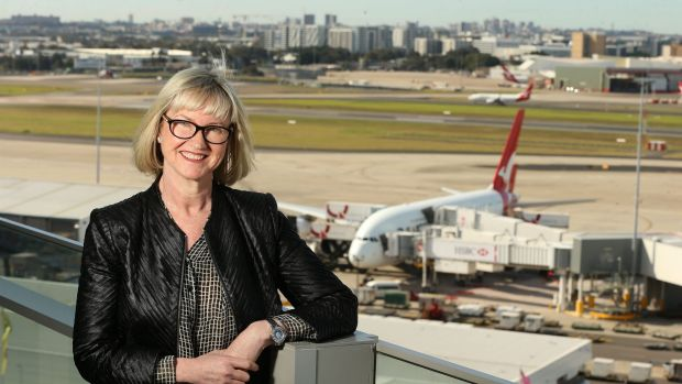 Sydney Airport CEO Kerrie Mather: Company won't build Badgerys Creek.