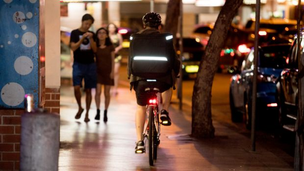 Cyclists in NSW are not allowed to ride on a footpath, except in limited circumstances, including if they are under the ...
