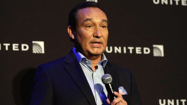 United chief executive Oscar Munoz was criticised for his immediate response to the incident with Dr David Dao.