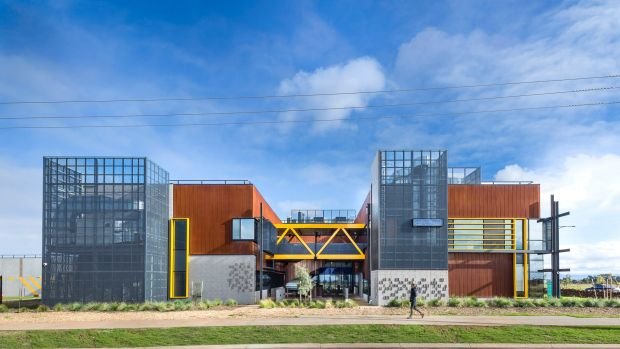 The Western Business Accelerator and Centre for Excellence was designed by Six Degrees and features a variety of facilities.