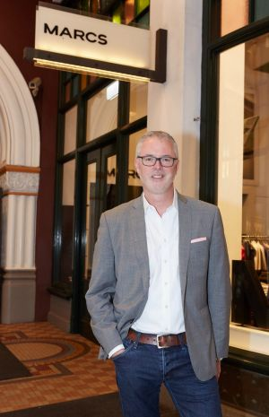 Myer's deputy chief Daniel Bracken won't say how many of the stand-alone Marcs and David Lawrence stores the department ...