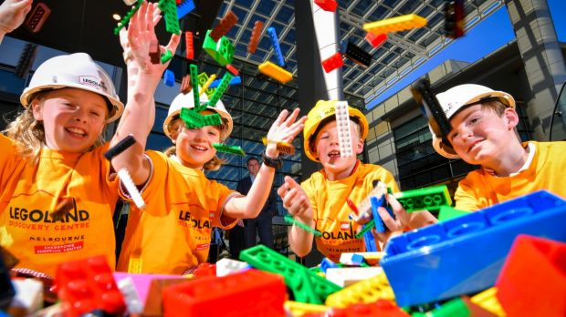 The launch of Legoland at Chadstone Shopping Centre.