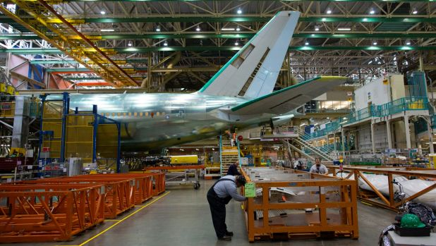 At over 13 million cubic metres, Boeing's Everett factory is the biggest building in the world.