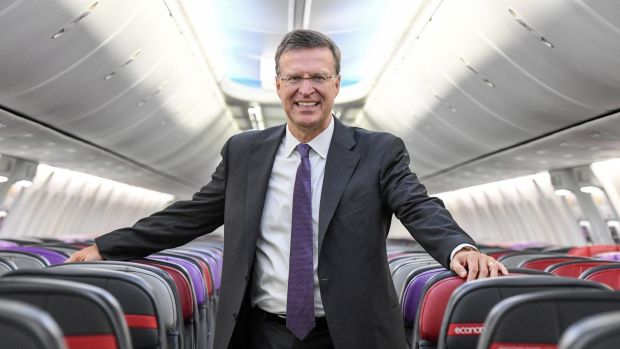 John Thomas pioneered non-ticket revenue and says he will use it to improve Virgin Australia's profitability.