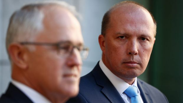 Peter Dutton announced the government would be cracking down on the issuing of 457 visas.