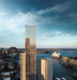 The mixed-use scheme is located at No. 1 Alfred Street on Circular Quay, and incorporates a five-star Wanda Vista Hotel, ...