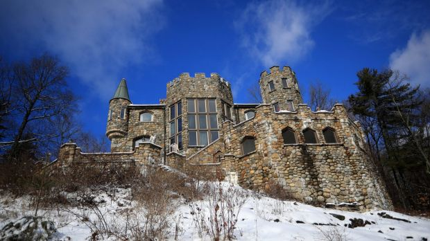 Highlands Castle, which overlooks Lake George in upstate New York: Interest in castles has grown thanks to the ...