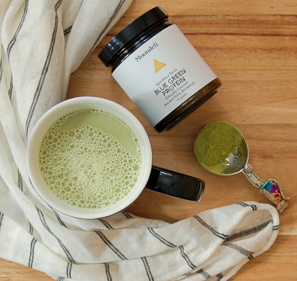 Vanilla Bean Sea Salt Matcha Latte
