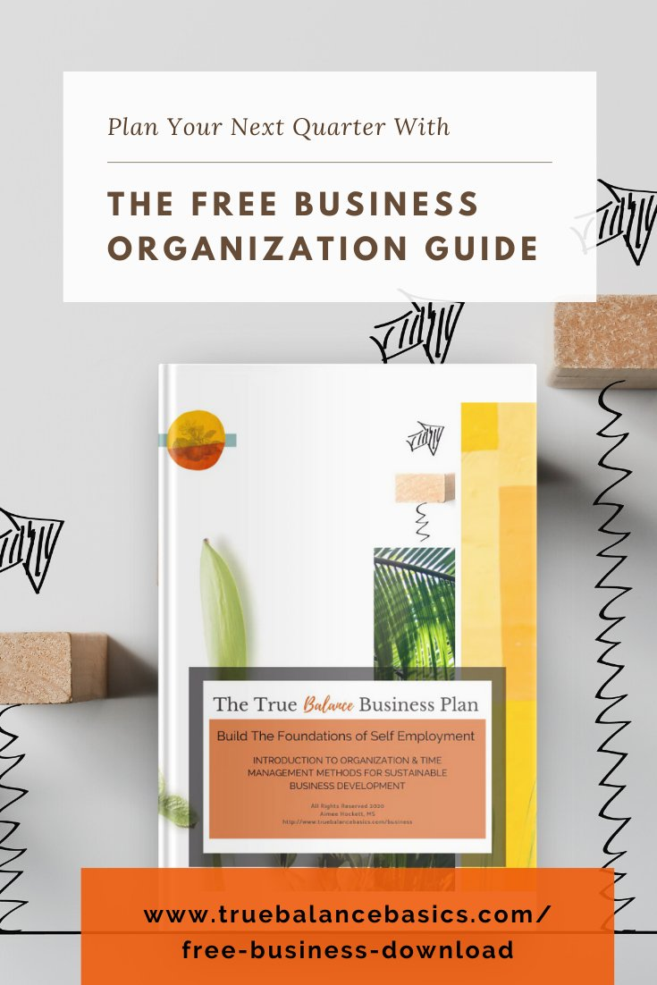 Plan Your Quarter with the Free Business Organization Guide