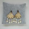 Birch & Pearl Quad Earrings