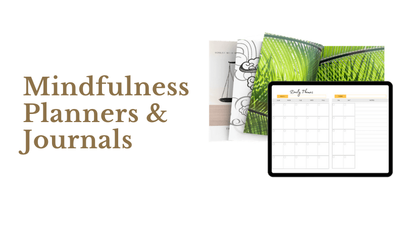 mindfulness planners and journals