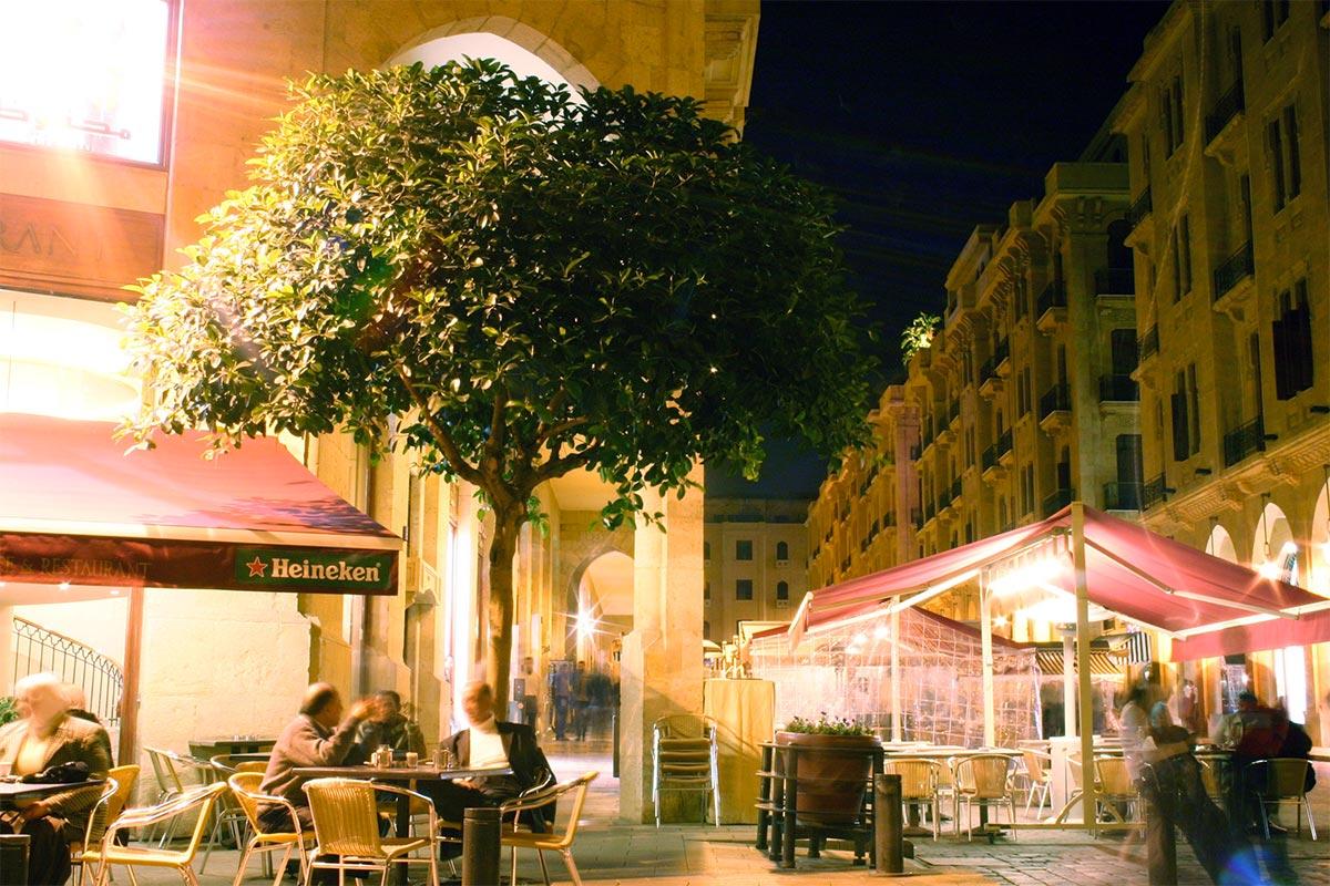 إعادة إعمار قلب بيروت التجاري