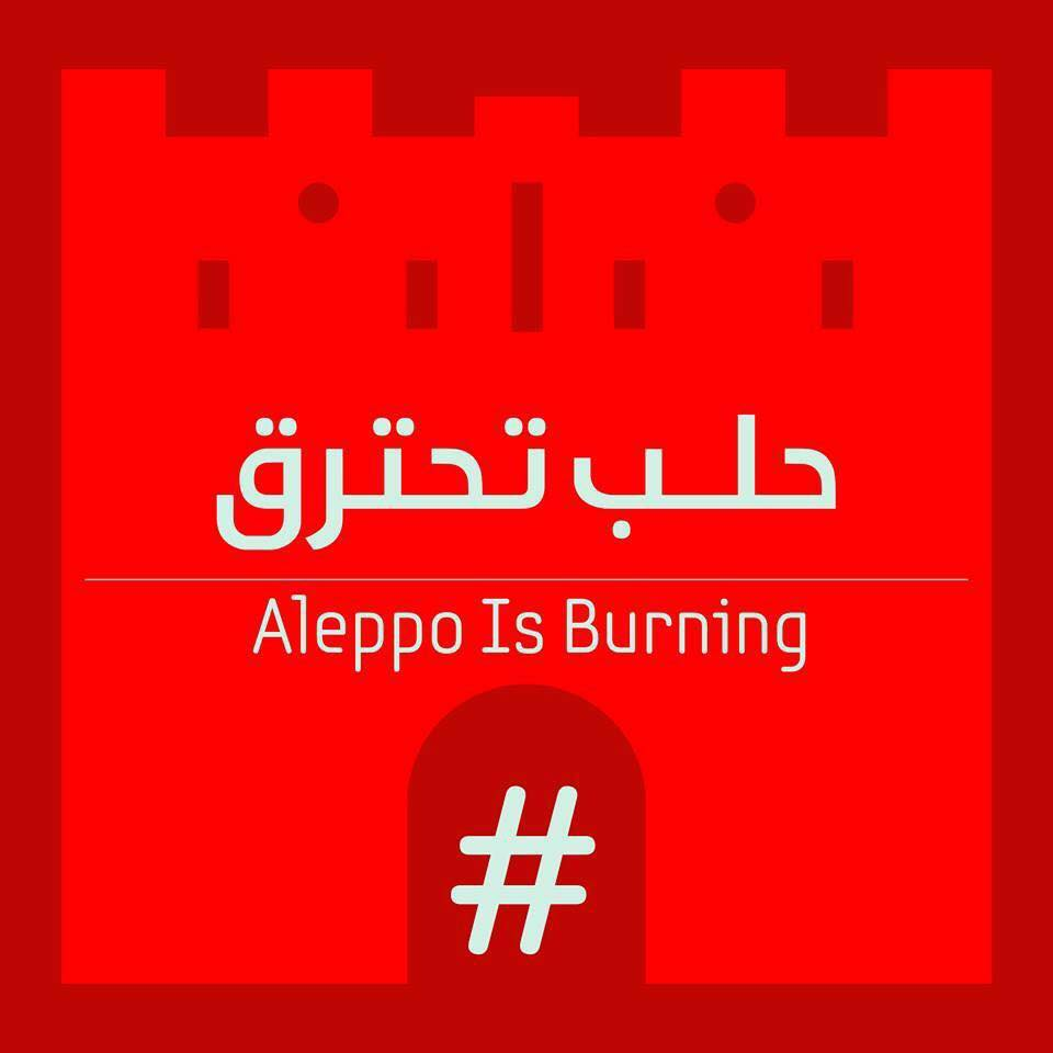 #AleppoIsBurning