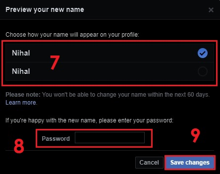 How to Change Your Name on Facebook on Desktop