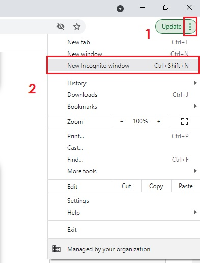 How to Open Incognito Tab in Chrome