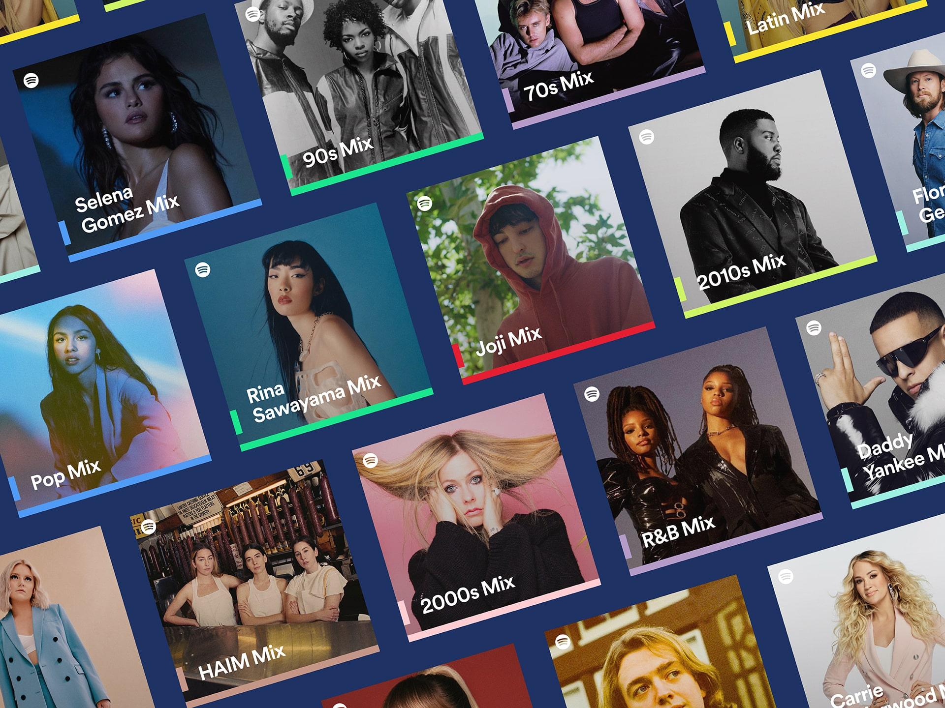 เปิดตัว Spotify Mixes โฉมใหม่ เพลย์ลิสต์ที่จัดทำเพื่อคุณ นำเสนอศิลปิน แนวเพลง และทศวรรษของเพลงที่เป็นที่ชื่นชอบ