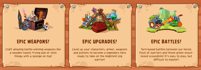 Angry Birds Epic Upgrade
