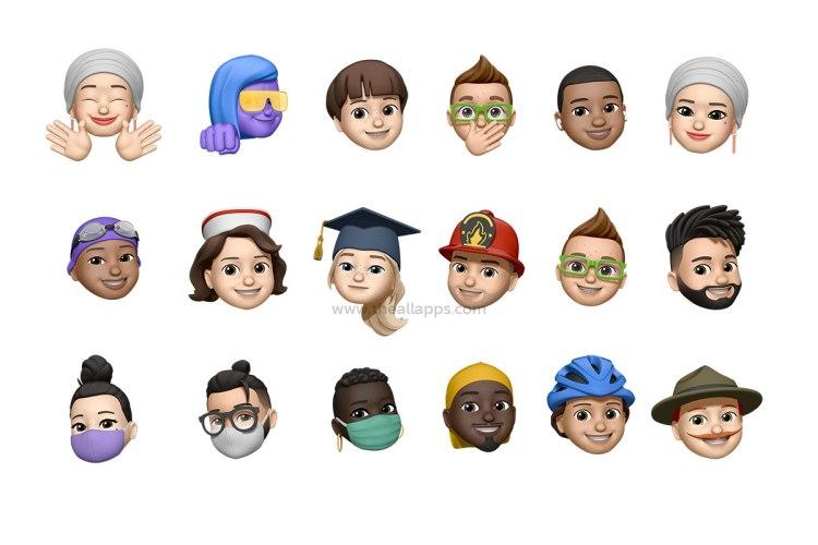 Apple เผยโฉม Memoji และ Emoji ใหม่ที่จะมาใน iOS 14 เนื่องในโอกาสวัน Emoji โลก 17 กรกฎาคม
