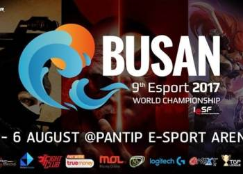 BUSAN 9th E-Sport 2017 World Championship