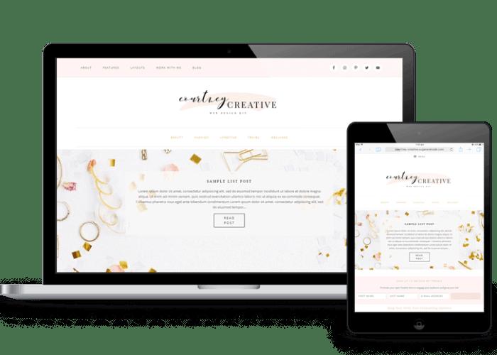 courtney-creative-wordpress-web-design-kit