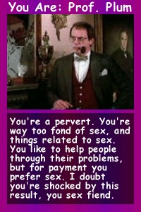 Which Clue character are you?