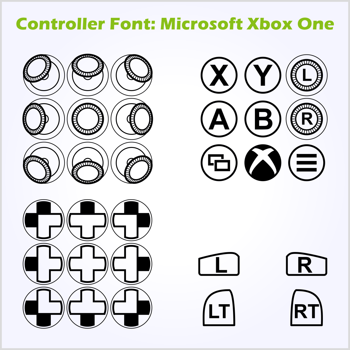 File Controller Font