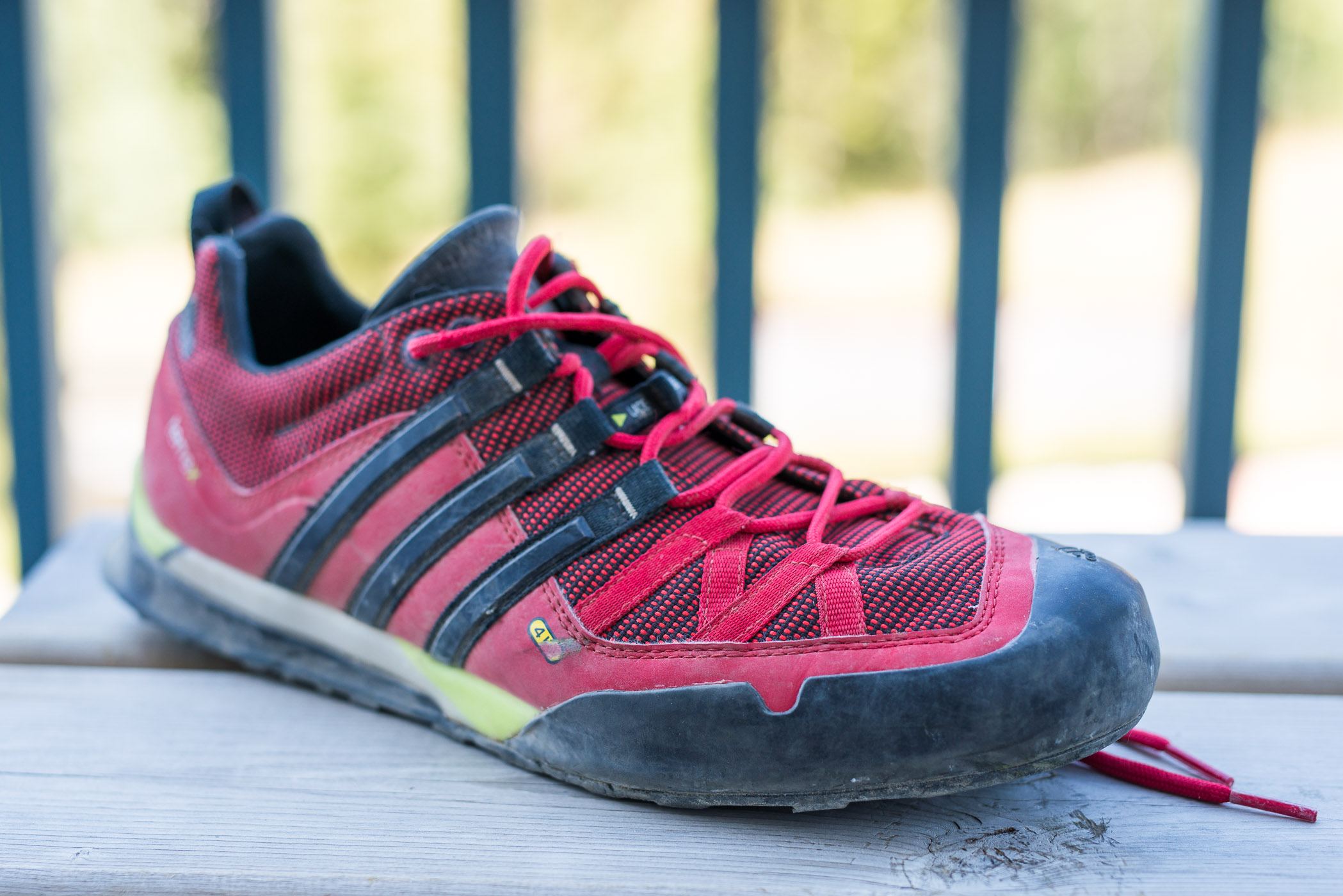 factory price genuine shoes sale online Review: Adidas Outdoor Terrex Solo shoe – The Alpine Start