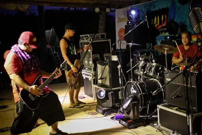 Morphine Kings performs during the Nalu Music Fest in Baler, Aurora. Photo by: Chris Quintana