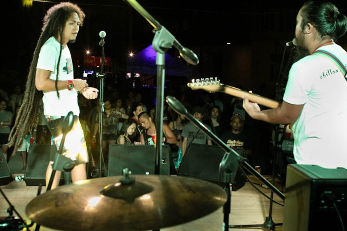 Engkanto performs on stage at the Nalu Music Fest in Baler, Aurora. Photo by: Chris Quintana