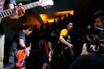 Give Chance to Run performs in San Pablo City, Laguna. Photo by: Chris Quintana.