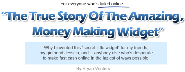 The Amazing Widget System *$15k Cash Prizes* By Bryan Winters  Image of content