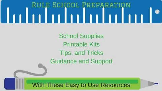School Planner and Preparation Printable
