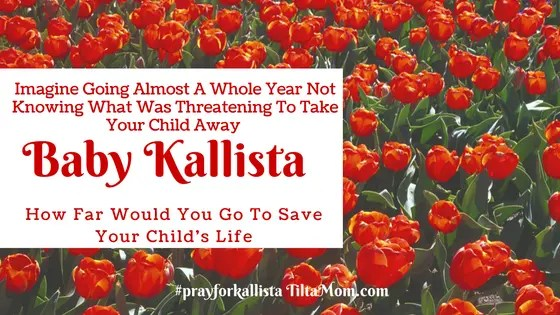 Kallista's Needs Help Finding a Name with Cure For Her Condition