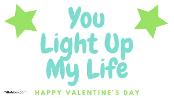 Light Up Valentines Day Cards and Goodies