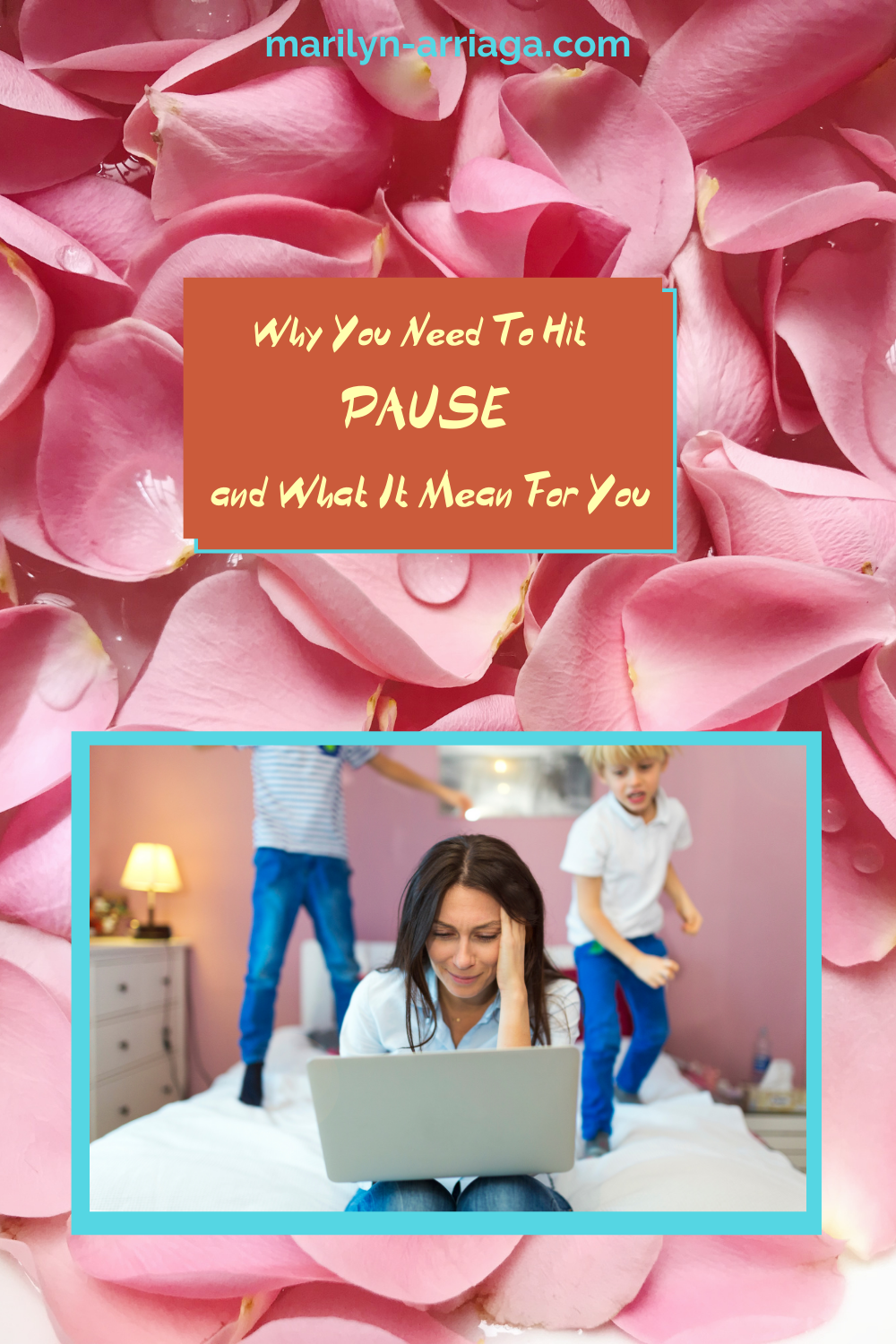 mom hit pause to regroup