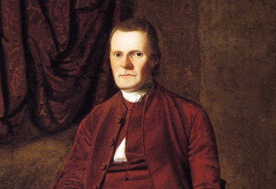 Portrait of Roger Sherman by Ralph Earl